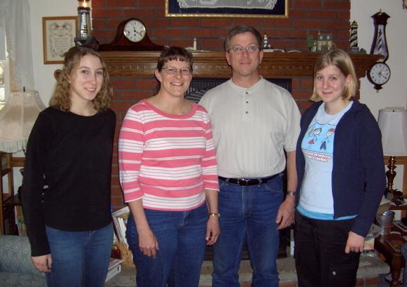 Mel Sayer family